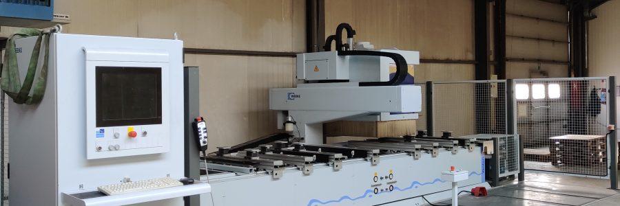 Nieuwe CNC Machine!