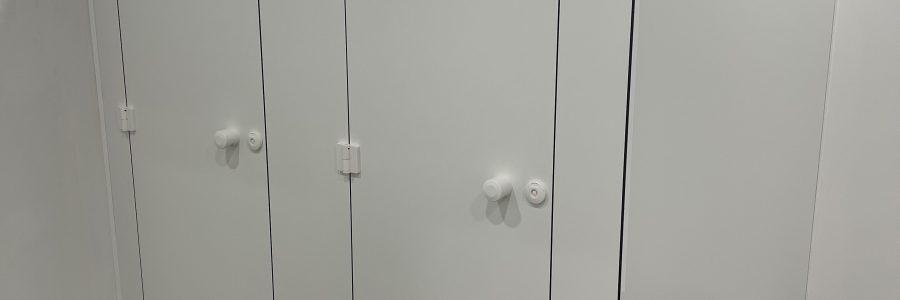 Sanitaire cabines AF FABRIEK!